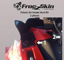 NEW FROGZSKIN POLARIS IQR 600RR SNOWMOBILE 2-PC AIR INTAKE VENT KIT F0093