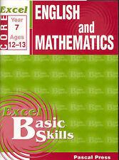 Excel English & Mathematics Year 7