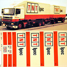 DAF TNT Ipec Dänemark-Holland (DK/NL) 1:87 Truck Decal LKW Abziehbild