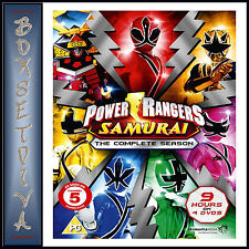 POWER RANGERS SAMURAI - COMPLETE COLLECTION **BRAND NEW DVD**