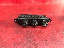 SUBARU WRX STI FORESTER XV Véritable Noir Piano HVAC boutons de commande Pour