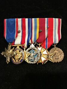 Army General mini medals
