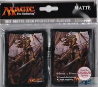 Rivals of Ixalan Vraska Relic MATTE ULTRA PRO MTG 80 deck protector card sleeves