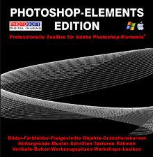 Profi-Zusätze Adobe Photoshop Elements 11 12 13 14 15 2018 2019 Plugins Bilder