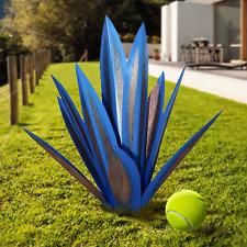 Tequila Rustic Sculpture, Diy Rustic Metal Agave Plant For Outdoor Patio Yard, Y