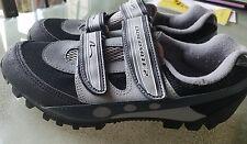 Nashbar Dolomite 2 mens sz 6.5 (40) Mountain Biking Shoes W/Clips Black Gray