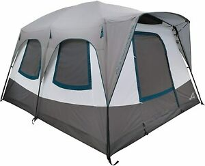 Alps Mountaineering Camp Creek Two-Room Size 6-Person Gray Camping 3-Season Tent
