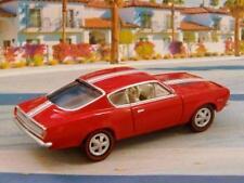 2nd Gen 1967- 1969 Plymouth 340 V-8 Barracuda Rally Edit 1/64 Scale Ltd Edit P
