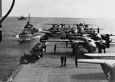 "Douglas SBD Dauntless Dive Bombers Doolittle Raid 5""x 7"" World War II Photo 810"