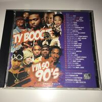DJ Ty Boogie I'm So 90's Part 4 R&B RnB Slow Jams Throwback Mixtape Mix CD