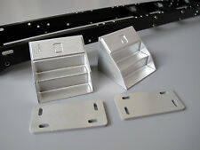 Aluminum Pair Angle Side Step Bracket Tamiya 1/14 King Grand Knight Hauler Actro