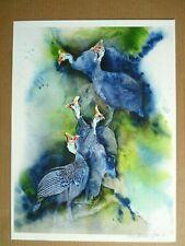 Karen Laurence-Rowe Limited Edition Print Five Kangas Africa Wildlife Art