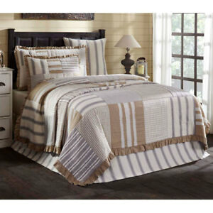 Grace Luxury King Quilt by VHC Brands - On Sale, Free Shipping