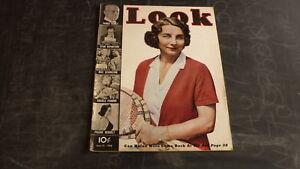 OLD LOOK MOVIE & FILM TABLOID MAGAZINE, JUNE 21 1938 HELEN WILLIS TENNIS STAR