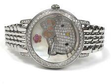 $3,550.00 Kimora Lee Simmons Hello Kitty 37mm Diamond, Pink Sapphire & MoP Watch