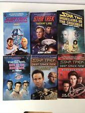 More details for star trek 6 book bundle - inc deep space nine the next generation