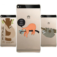Sloth Phone Case Soft TPU Silicone Case Cover For iPhone samsung and Huawei