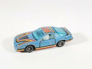 Vintage 1982 Kidco Lock-Ups Blue #34 Camaro Loose No Key
