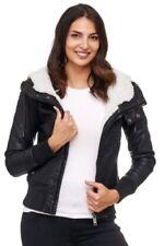 Cappotti e giacche da donna in pelle sintetica con cerniera taglia S