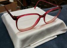 Vintage LINDA EVANS  Eyeglasses Frames Sans Pareil 113 Burgundy 55[]16 140 Japan