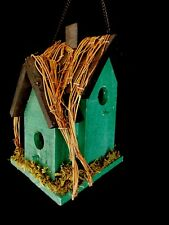 Garden Essentials Cedar Wood Birdhouse with Three Hole Entrance - NEW! On Sale!