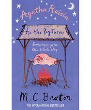 M C BEATON __ AGATHA RAISIN AS THE PIG TURNS __ BRAND NEW __ FREEPOST UK