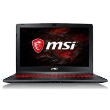 Portatil Gaming MSI GL62M 7REX-2201XES i7-7700HQ/8GB/1TB+256GB SSD/GTX 1050Ti
