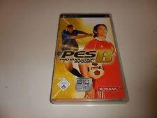 PlayStation Portable pro evolution soccer 6