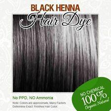Black Natural Henna Color 100% Organic HERBAL Henna HAIR Dye ALLIN 60G