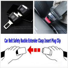 1 Pcs Auto Car Seat Belt Safety Belt Extension Extender Buckle Clip with Logo