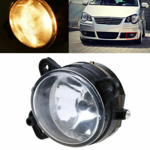 Left Bumper Clear Fog Lamp Light for Skoda Fabia Mk2 Roomster 06-10 VW T5