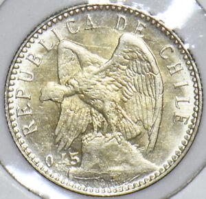 Chile 1915 5 Centavos Condor animal 291198 combine shipping