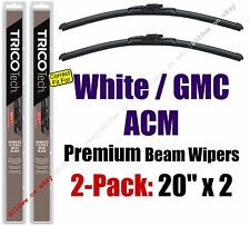 Wiper Blades 2-Pack Premium - fit 1988-1992 White GMC ACM - 19200x2