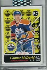 2019-20 UD Buybacks Connor McDAVID Rc O Pee Chee Retro Auto 06/10