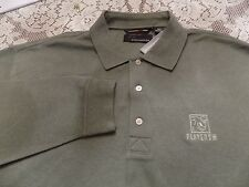 NWT GREG NORMAN MOSS COLORED SHIRT WITH CHEST LOGO SIZE XXL/TTG RETAILS FOR $64.