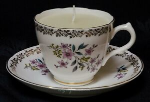 ROYAL GRAFTON CUP AND SAUCER CANDLE