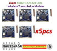 5pcs SX1278 433MHz LoRa Wireless Module Long Distance Transmission with Antenna