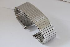 20mm to 25mm STAINLESS STEEL FIXO FLEX STYLE EXPANDING, EXPANDER WATCH BRACELET