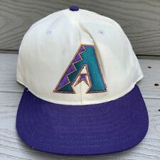 Arizona Diamondbacks Baseball Hat Fitted Cap 7 3/8 White MLB Baseball New Era