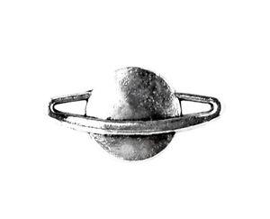 Saturn Lapel Pin