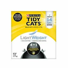 New listing Purina Tidy Cats LightWeight 4-in-1 Strength Clumping Cat Litter