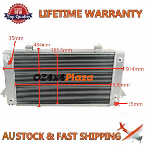 4Row Aluminum Radiator For Land Rover Range Rover 8Cyl 3.9L 1987-2002 1999 AT/MT