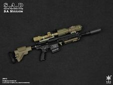 Easy & Simple 1/6 Action Figure 26012 CIA SAD Assault Rifle, Accessories Set 417