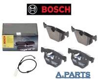 BOSCH BREMSBELAGSATZ WARNKONTAKT HINTERACHSE BMW 5 / 6 / E60 E61 E63 E64 NEU