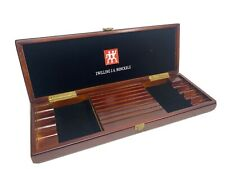 ZWILLING J A HENCKELS WOODEN HINGED PRESENTATION BOX ONLY