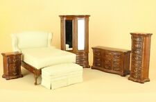 "Bespaq Direct Dollhouse Miniature ""PARK AVENUE"" BEDROOM SET 2680-PSS-NWN-SET"