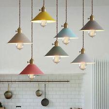 Industrial Loft Lámpara Colgante Vintage Cocina Barra Colgando Luz de Techo HC