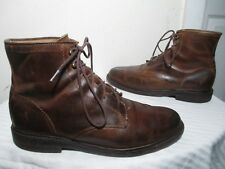 $320 FRYE JAMES 87124 MEN'S BURNISHED TAN LEATHER BOOTS SHOES SIZE 9½ D
