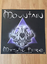 Mountain Mystic Fire Leslie West Album Flat Double Sided Promo 1997