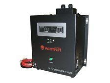 1000VA Sinus Wechselrichter 12V WT-Combi MPPT-1000 700 Watt mit Laderegler USV